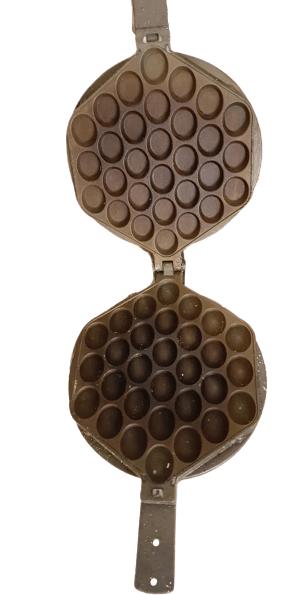 teflonowanie gofrownicy bubble waffles