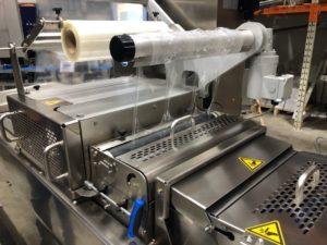 Traysealer pakowanie próżniowe zgrzewanie tacek wagi cas w polsce regeneracja płyt Illpack Variovac Multivac